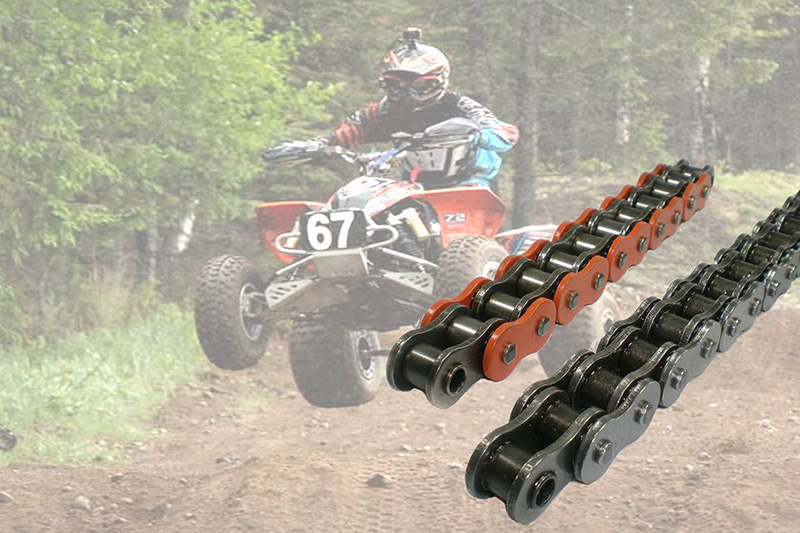 Heavy duty motorcycle chains