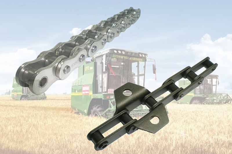 High strength agricultural machinery chains