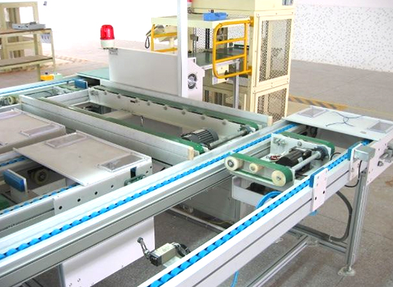 Application of high-speed precision roller chain automatic inspection line