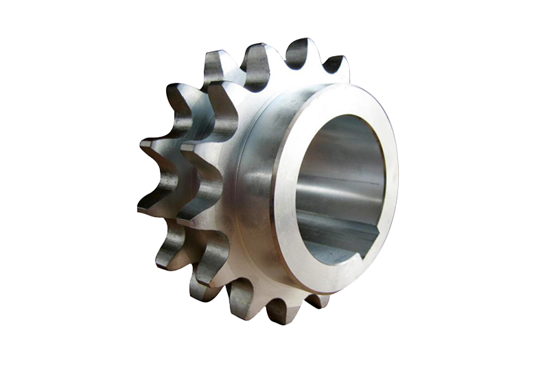 Double Row Finished Bore Sprockets with Keyway