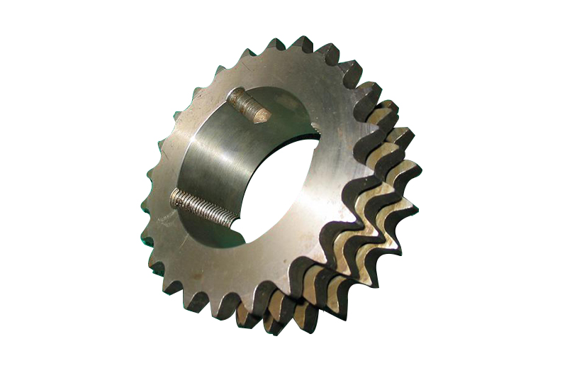 Tripe Row Taper Bushed Sprockets
